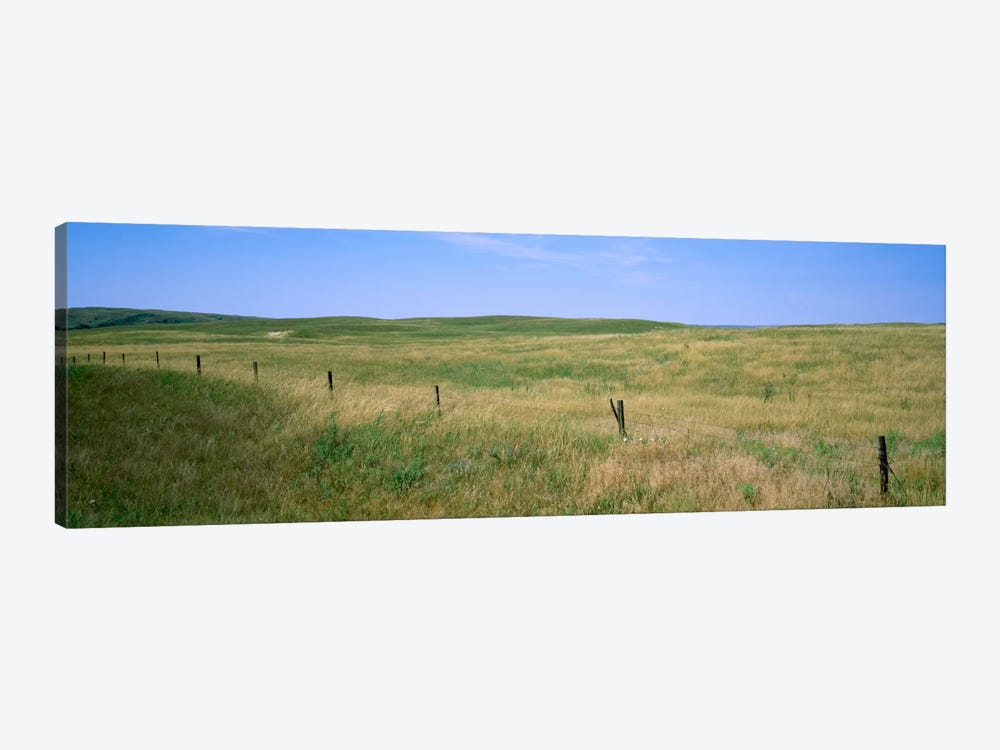 Prairie Landscape, Cherry County, Nebraska, USA 1-piece Canvas Art