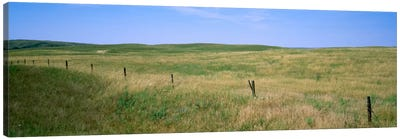 Prairie Landscape, Cherry County, Nebraska, USA Canvas Art Print