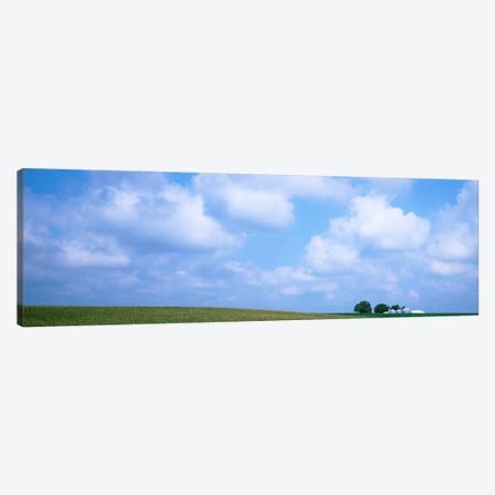 Countryside Landscape,  Marshall County, Iowa, USA 3-Piece Canvas #PIM2097} by Panoramic Images Art Print
