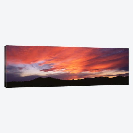 Sunset over Black Hills National Forest Custer Park State Park SD USA Canvas Print #PIM2099} by Panoramic Images Canvas Art