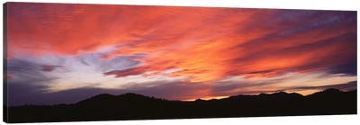 Sunset over Black Hills National Forest Custer Park State Park SD USA Canvas Print #PIM2099