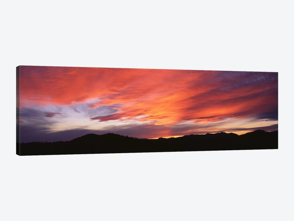 Sunset over Black Hills National Forest Custer Park State Park SD USA by Panoramic Images 1-piece Canvas Artwork