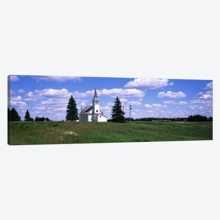 USA, South Dakota, Church Canvas Print #PIM2101} by Panoramic Images Canvas Art