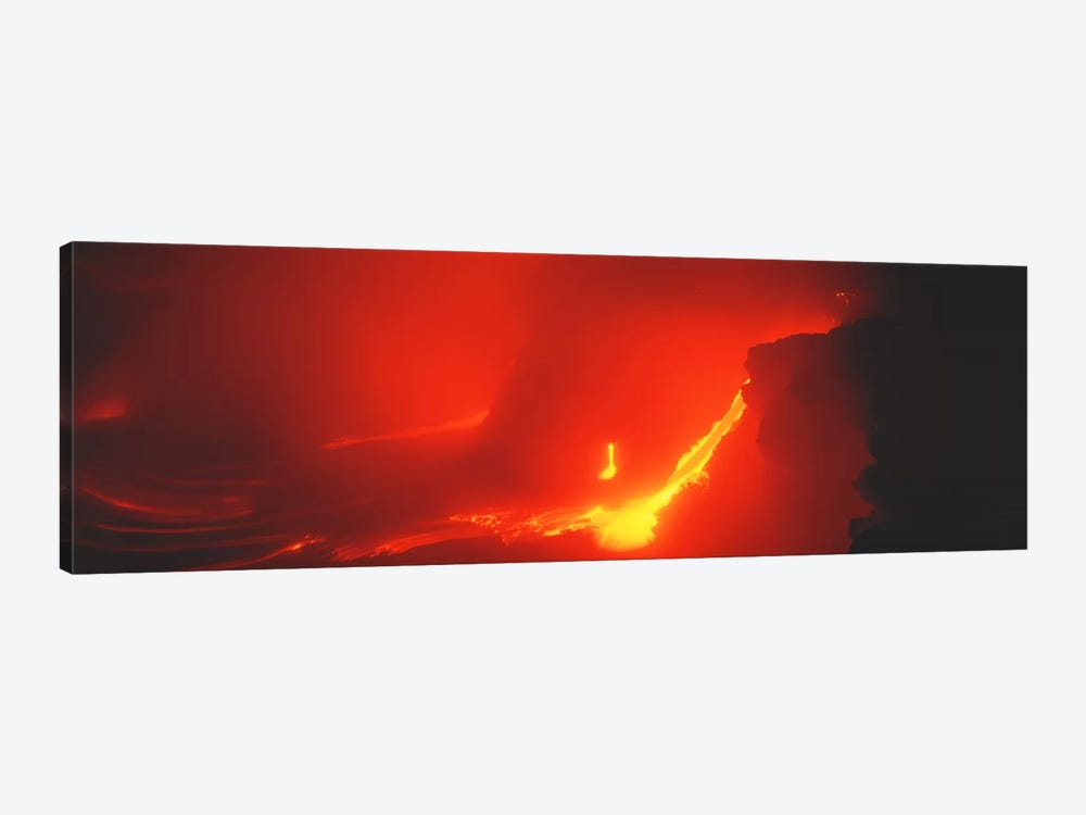 Kilauea Volcano Hawaii HI USA by Panoramic Images 1-piece Canvas Art