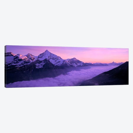 Cloud Cover I, Swiss Alps, Switzerland Canvas Print #PIM2110} by Panoramic Images Canvas Print