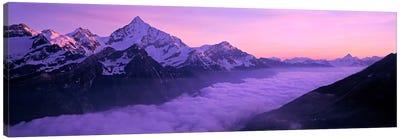 Cloud Cover I, Swiss Alps, Switzerland Canvas Print #PIM2110