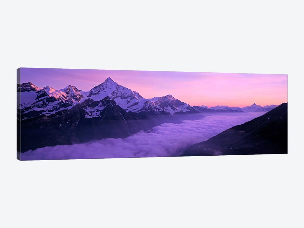Cloud Cover I, Swiss Alps, Switzerland by Panoramic Images 1-piece Canvas Wall Art