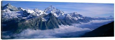 Cloud Cover II, Swiss Alps, Switzerland Canvas Print #PIM2111