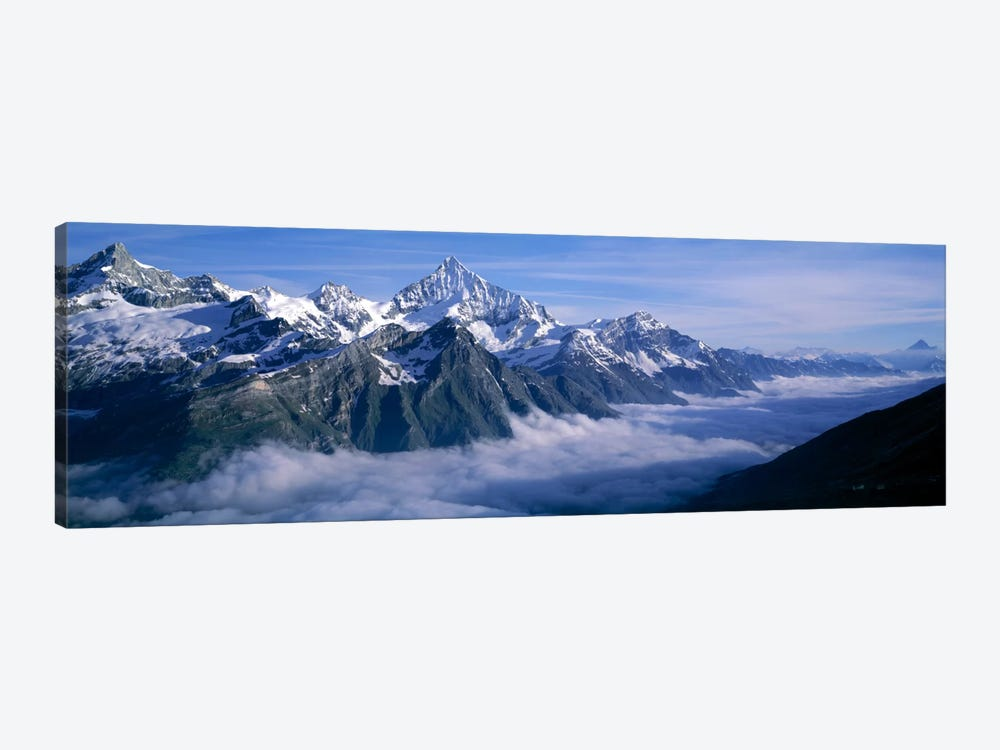 Cloud Cover II, Swiss Alps, Switzerland by Panoramic Images 1-piece Canvas Art Print
