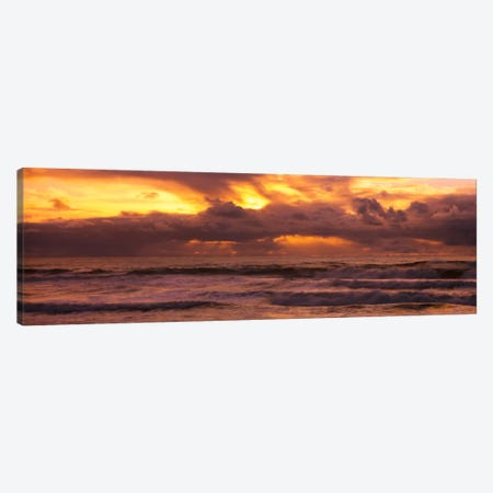 Clouds over the oceanPacific Ocean, California, USA Canvas Print #PIM2131} by Panoramic Images Canvas Art Print