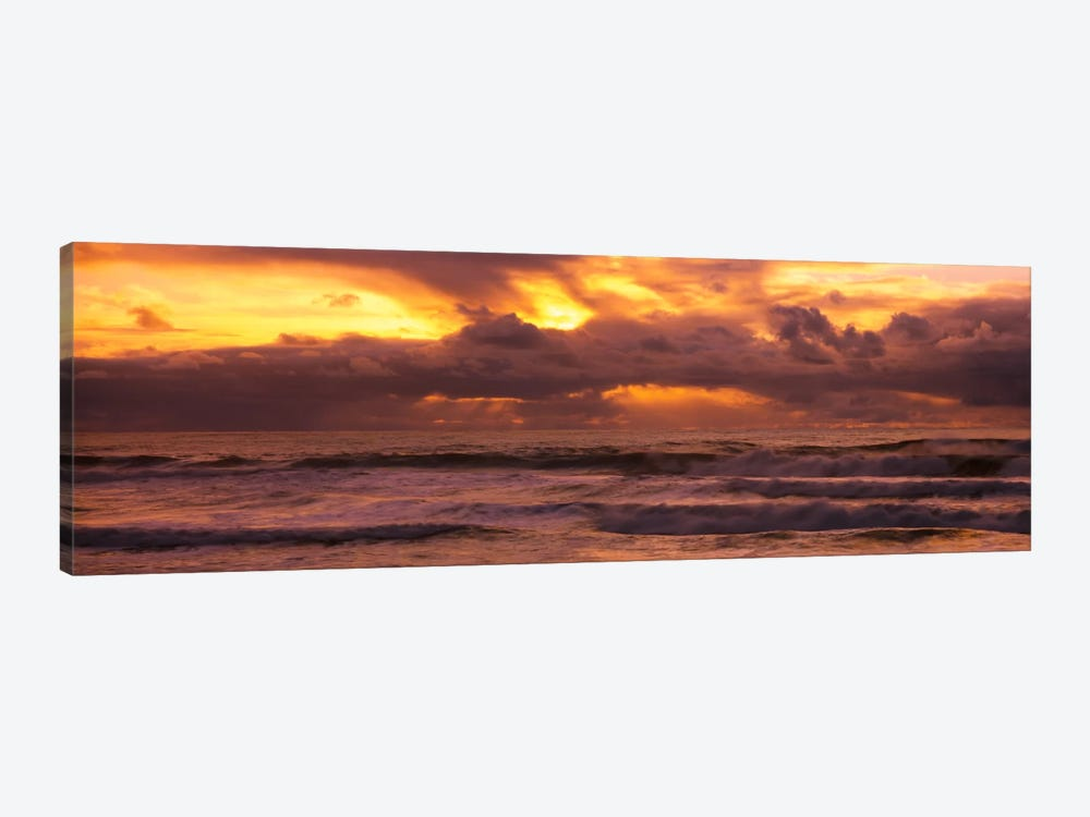 Clouds over the oceanPacific Ocean, California, USA by Panoramic Images 1-piece Canvas Art Print