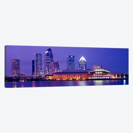 Building at the waterfront, Tampa, Florida, USA Canvas Print #PIM2142} by Panoramic Images Canvas Art
