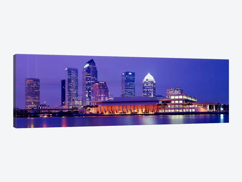 Building at the waterfront, Tampa, Florida, USA by Panoramic Images 1-piece Canvas Print