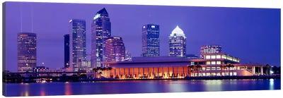 Building at the waterfront, Tampa, Florida, USA Canvas Art Print