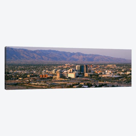 High angle view of a cityscapeTucson, Arizona, USA Canvas Print #PIM2143} by Panoramic Images Canvas Wall Art