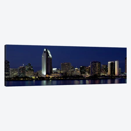 Skyscrapers in a citySan Diego, California, USA Canvas Print #PIM2146} by Panoramic Images Canvas Print