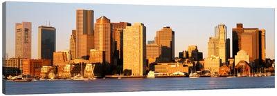 SunriseSkyline, Boston, Massachusetts, USA Canvas Print #PIM2156