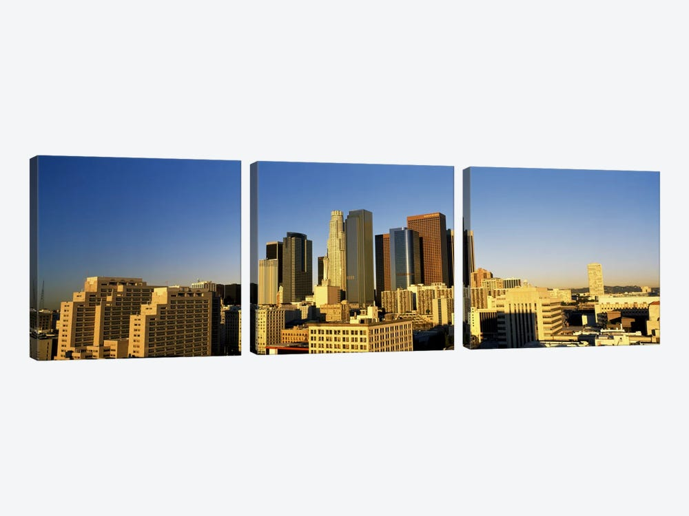 Los Angeles CA USA by Panoramic Images 3-piece Canvas Print