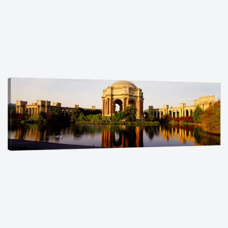 Buildings at the waterfront, Palace of Fine Arts, San Francisco, California, USA Canvas Print #PIM2173} by Panoramic Images Canvas Art Print