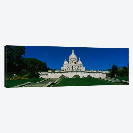 Facade of a basilica, Basilique Du Sacre Coeur, Paris, France Canvas Print #PIM2185} by Panoramic Images Canvas Art Print
