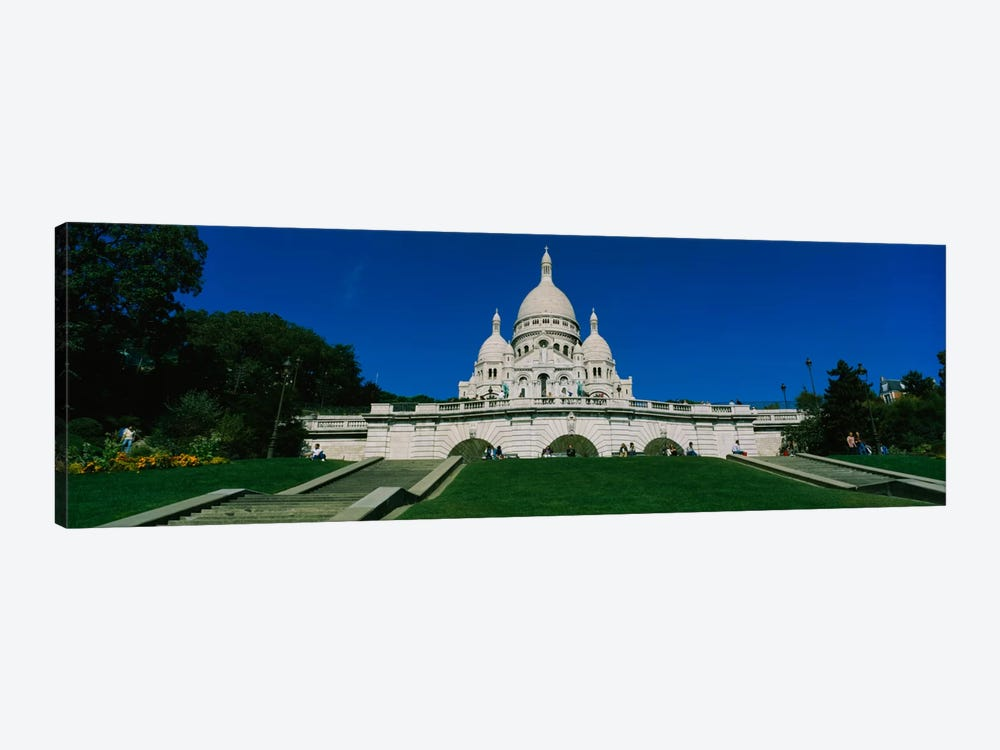 Facade of a basilica, Basilique Du Sacre Coeur, Paris, France by Panoramic Images 1-piece Canvas Artwork