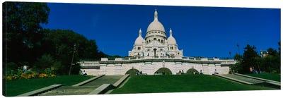Facade of a basilica, Basilique Du Sacre Coeur, Paris, France Canvas Art Print