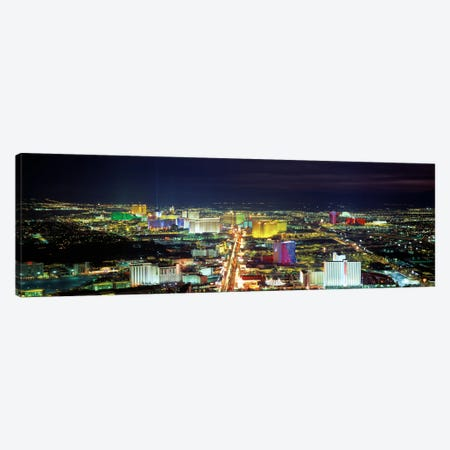 SkylineLas Vegas, Nevada, USA Canvas Print #PIM2188} by Panoramic Images Canvas Artwork