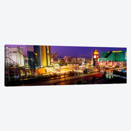 High angle view of a city, Las Vegas, Nevada, USA Canvas Print #PIM2192} by Panoramic Images Canvas Print