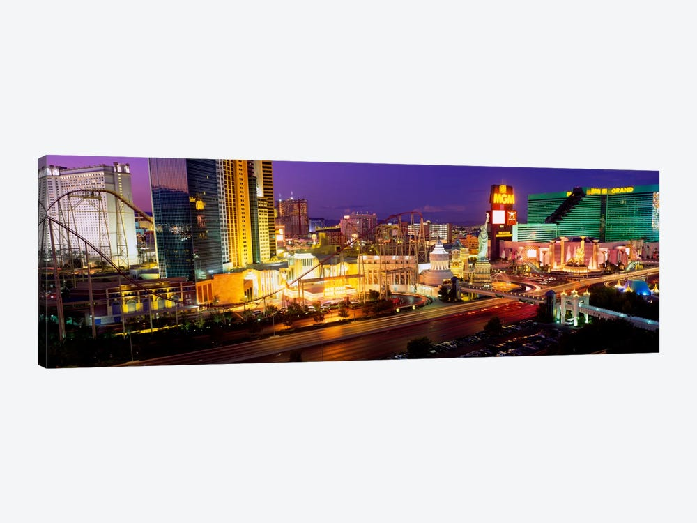 High angle view of a city, Las Vegas, Nevada, USA by Panoramic Images 1-piece Canvas Art