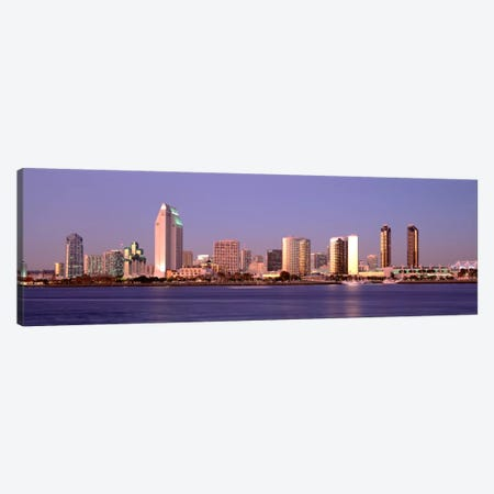 Buildings in a city, San Diego, California, USA #2 Canvas Print #PIM2193} by Panoramic Images Canvas Print