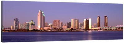 Buildings in a city, San Diego, California, USA #2 Canvas Art Print