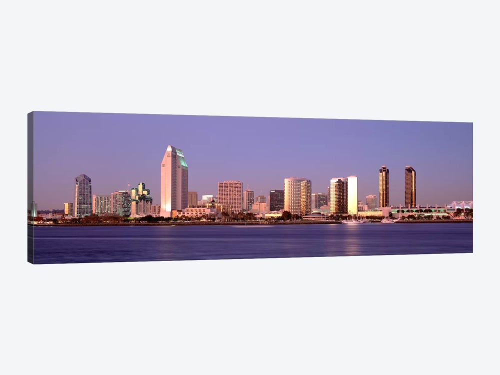 Buildings in a city, San Diego, California, USA #2 by Panoramic Images 1-piece Canvas Art Print