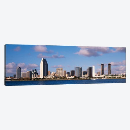 Buildings in a citySan Diego, California, USA Canvas Print #PIM2195} by Panoramic Images Canvas Artwork
