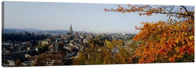 High angle view of buildings, Berne Canton, Switzerland Canvas Print #PIM2196