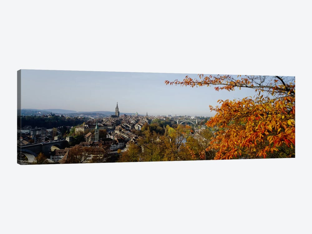 High angle view of buildings, Berne Canton, Switzerland by Panoramic Images 1-piece Canvas Art