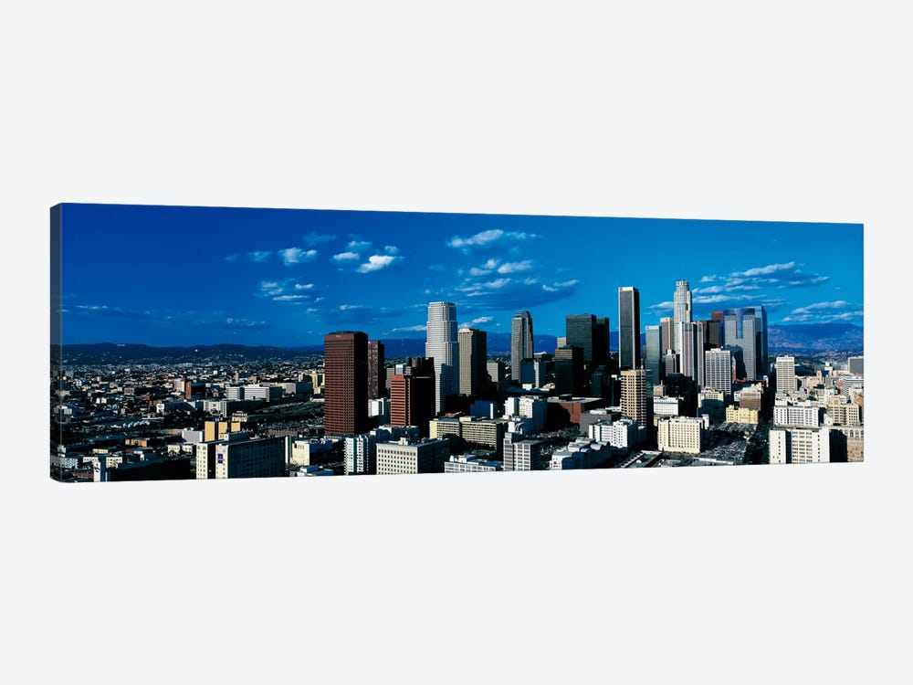 Skyline from TransAmerica Center Los Angeles CA USA by Panoramic Images 1-piece Canvas Art Print