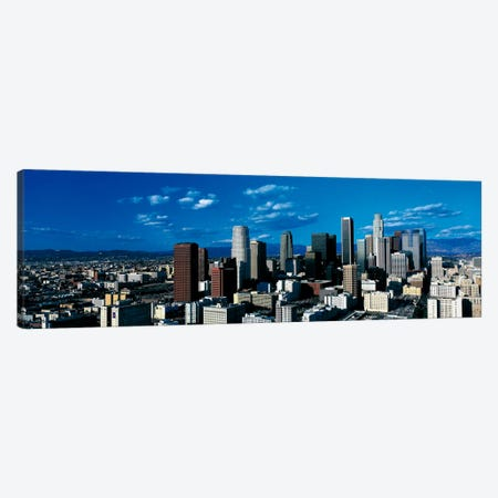 Skyline from TransAmerica Center Los Angeles CA USA Canvas Print #PIM219} by Panoramic Images Art Print