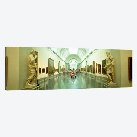 Main Exhibition Hall, Prado Museum, Madrid, Spain Canvas Print #PIM21} by Panoramic Images Canvas Wall Art