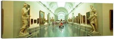 Main Exhibition Hall, Prado Museum, Madrid, Spain Canvas Art Print