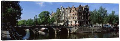 Lekkeresluis (Great Bridge), Jordaan, Amsterdam, Netherlands Canvas Print #PIM2205