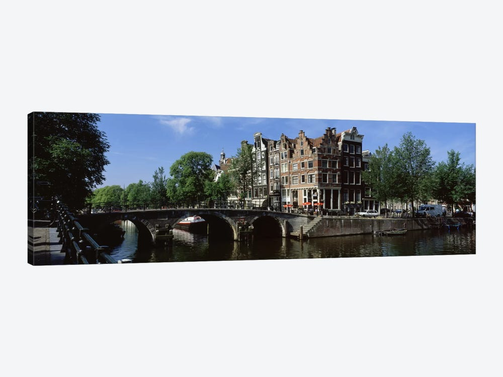 Lekkeresluis (Great Bridge), Jordaan, Amsterdam, Netherlands by Panoramic Images 1-piece Canvas Wall Art