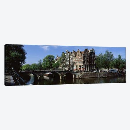 Lekkeresluis (Great Bridge), Jordaan, Amsterdam, Netherlands Canvas Print #PIM2205} by Panoramic Images Canvas Wall Art