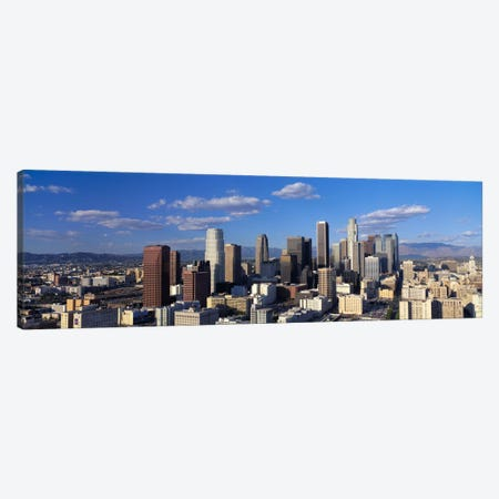 Daylight Skyline, Los Angeles, California, USA Canvas Print #PIM220} by Panoramic Images Canvas Artwork