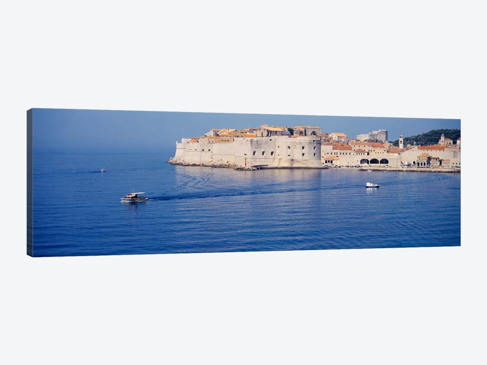 Two boats in the sea, Dubrovnik, Croatia by Panoramic Images 1-piece Art Print