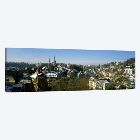 High angle view of a city, Berne, Switzerland Canvas Print #PIM2216} by Panoramic Images Canvas Art Print