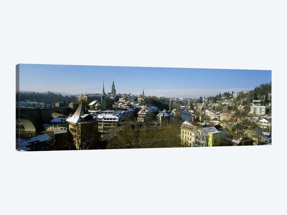 High angle view of a city, Berne, Switzerland by Panoramic Images 1-piece Canvas Artwork