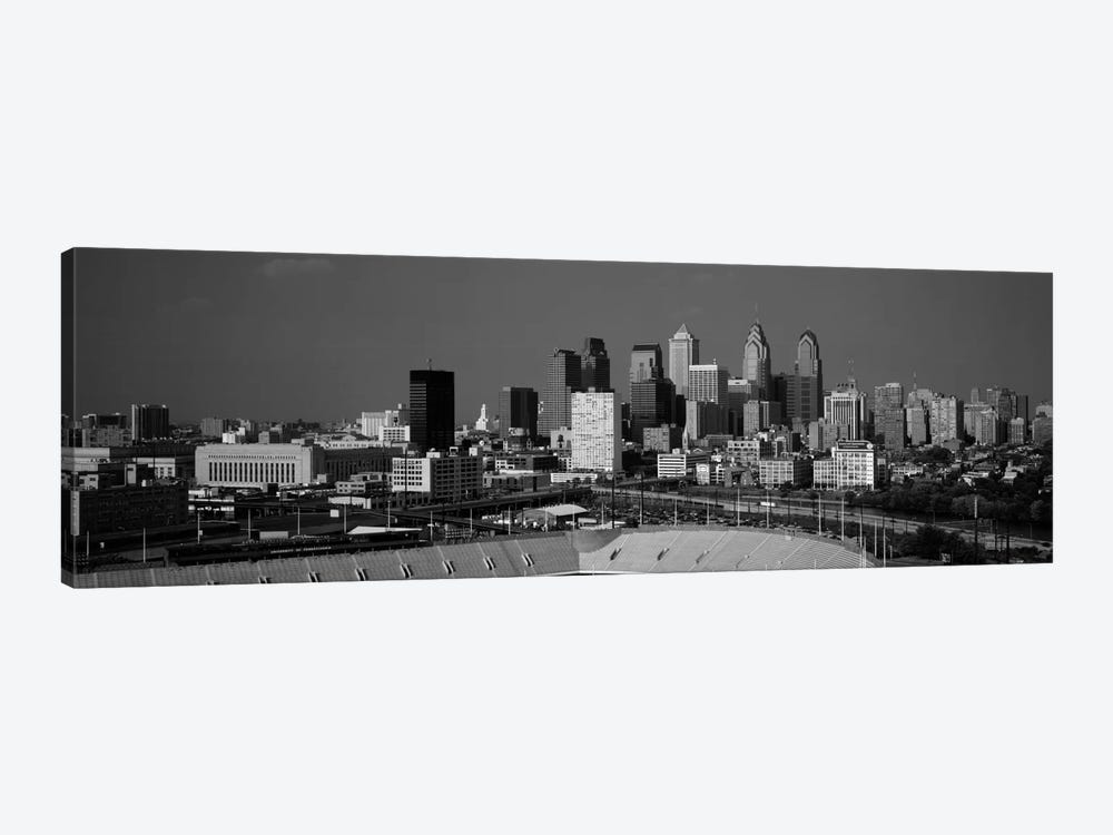 Buildings in a cityPhiladelphia, Pennsylvania, USA by Panoramic Images 1-piece Canvas Art Print