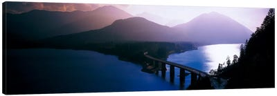 Sylvenstein Lake Bavaria Germany Canvas Print #PIM2230