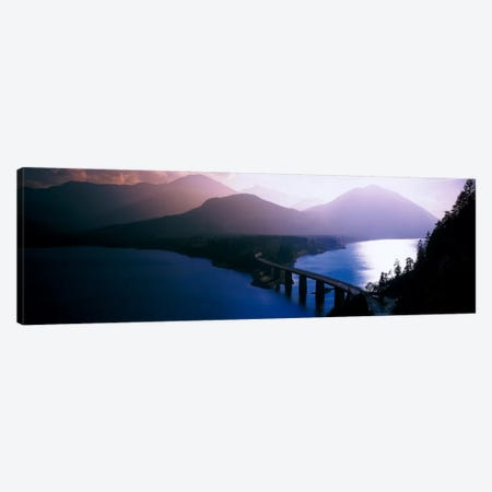 Sylvenstein Lake Bavaria Germany Canvas Print #PIM2230} by Panoramic Images Canvas Artwork