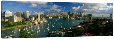 Sydney Harbour Bridge (The Coathanger), Sydney, Australia Canvas Print #PIM2236